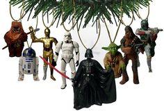 Star Wars Ornament Set – 8 figures                                                                                                                                                                                 Plus