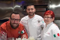 Some of the faces behind the name. Thanks for the great work and tasty food. Yummy Food, Tasty, Calgary, Chefs, Chef Jackets, Thankful, Faces, Restaurant, Delicious Food