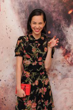 Kiko Mizuhara in Hongkong for Attack On Titan promotions x