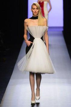 Jean Paul Gaultier vestido con tul