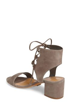Darby Lace-Up Sandal (Women) by Schutz on @nordstrom_rack