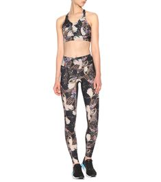 a3f9f998c1d7b Erte black and multicoloured printed leggings Printed Leggings, Luxury  Fashion, Print Leggings