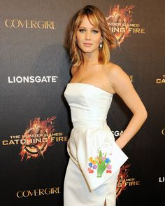 Jennifer Lawrence hits #TheHungerGames: #CatchingFire party for the 2013 Cannes Film Festival. (Photo by Dave Benett)