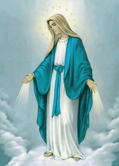 Ahh I just bought a Mary statue at A Catholic rummage sale that looks exactly like this. How awesome :D