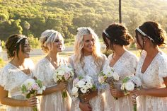 Gorgeous lace inspired wedding!