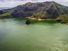 Like those nested Russian dolls, the mystical Taal Volcano is a volcano within a glittering, freshwater lake, which sits within a bigger volcano. Take a look!