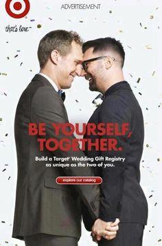 Target Rolls Out Gay Wedding Registry Ad   www.opposingviews.com/i/society/gay-issues/target-rolls-out-gay-wedding-registry-ad