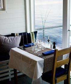 Coolest Floating Restaurants: Salt & Sill, Sweden