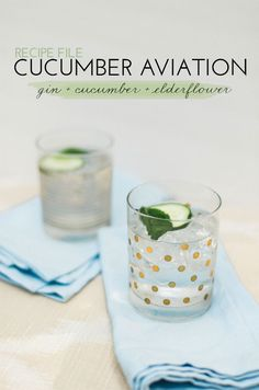Recipe File: 3 Summer Drinks With Dry Soda | theglitterguide.com