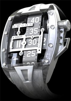 Devon Tread 2 Time Belt available at Authorized Dealer Watchismo.com LUXURY DESIGN LAB DEVON RELEASES FINAL SPECIFICATIONS FOR ITS MUCH- ANTICIPATED TREAD 2, THE COMPANY'S SECOND LINE OF TIMEPIECES