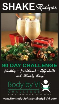 Yes... there is a Delish Vi-Shake for EVERY occassion! www.DebraKJ.BodyByVi.com