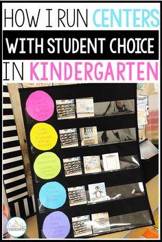 How To Run Literacy Centers in Kindergarten - Natalie Lynn Kindergarten