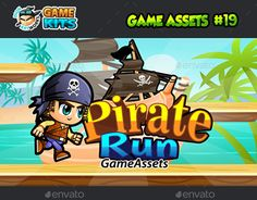 "Check out new work on my @Behance portfolio: ""Pirate Run Platformer Game Assets 19"" http://be.net/gallery/45722497/Pirate-Run-Platformer-Game-Assets-19"