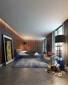 Apartamento 100m² - Suíte Master - Interiores Iguaçu - Smart - POA/RS/Brasil Projeto: Maena _ www.maena.com.br