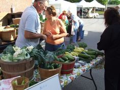 Wednesday is market day at Clinton County Farmers' Market in Wilmington, Ohio 1:30 - 5:30pm  http://www.farmersmarketonline.com/fm/ClintonCountyFarmersMarket.html