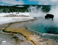 Yellowstone was a strange and beautiful place.