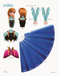 Anna-de-Frozen-figura-para-armar.jpg (1237×1600)