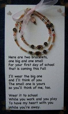 Mom and Daughter (or Grandma) Bracelets