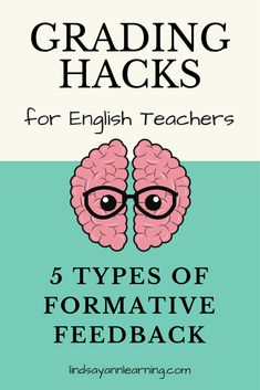 Types of Writing Feedback for English Language Arts Teachers So many good suggestions! Try some ASAP! Teaching Language Arts, English Language Arts, Teaching Writing, Teaching Strategies, Teaching English, English Teachers, English Classroom, Teaching Tips, Education English