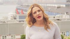 The queen of positive - Drew Barrymore - tells us to carry bright colors into fall to keep our outlook bright and positive. | Flower Beauty Makeup & Cosmetics by Drew Barrymore | Fall Lip | makeup tips | beauty tips