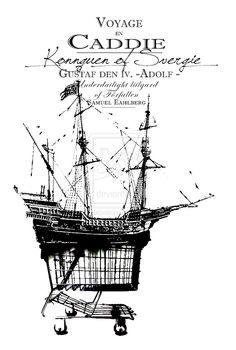Navire - Voyage en caddie by ~kokikok on deviantART