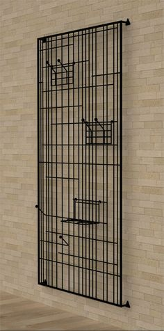 Steel coat rack Lines by Karre Design | design Sadi Ozis, Neptun Ozis
