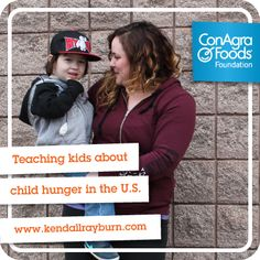 Did you know 1 in 5 kids are at risk for child hunger? 16 MILLION kids in America aren't getting the food they need. Let's help #FightHungerTogether! #ad