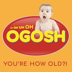 OGOSH greeting card for Kinky Rhino Greeting Cards in South Africa #greetingcard #southafricancard #southafrica #card #birthday #oros #cooldrink #baby #south #africa #cute
