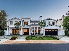 12642 Hortense St, Studio City, CA 91604 - 5 baths Dream Home Design, Modern House Design, My Dream Home, Dream House Exterior, Dream House Plans, House Exterior Design, Stommel Haus, Luxury Homes Dream Houses, Modern Farmhouse Exterior