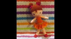 tutorial jak zrobić lale na szydełku #amigurumi #crochet #doll #szydełko #wzór #tutorial