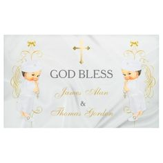 Ukraine 3 ring binder baby boy twins baptism christening gold banner negle Image collections