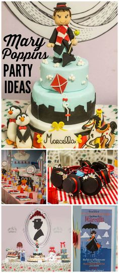 Who doesn't love Mary Poppins? You have to see this fun party! See more party ideas at CatchMyParty.com!