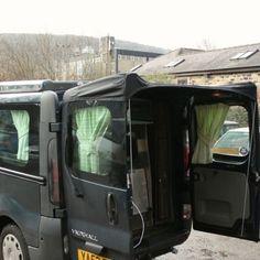 Kiravans Barn Door Awning T5 Kiravans Awnings