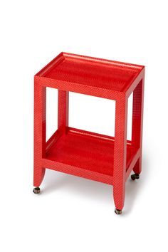 Karl Springer Style Petite Telephone Table by TimelessAccessories, $1,600.00