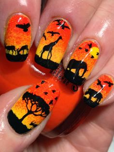 Out of Africa! - Canadian Nail Fanatic