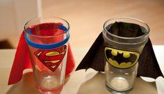 Vasos originales con nuestros superhéroes favoritos