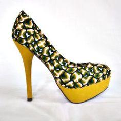 Safari by Bubushiiky Chaussures talons wax Retrouvez toutes les sélections Céwax ici : https://cewax.wordpress.com