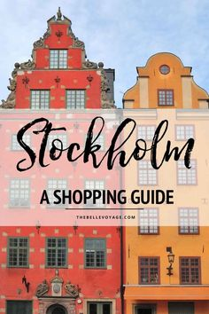Shopping in Stockholm Sweden | Stockholm Sweden Travel Guide | Things to Do in Stockholm Sweden | Sockholm travel | Stockholm food | What to see in Stockholm | What to do in Stockholm | Stockholm Sweden vacation #stockholm #sweden #travel