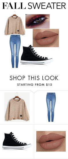"""""""Fall"""" by awseome-girl-5953 ❤ liked on Polyvore featuring Converse"""