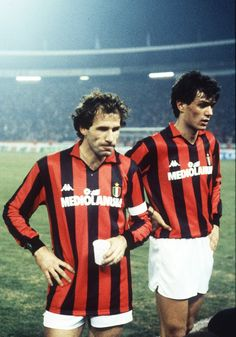 Baressi and Maldini, my god!!! what a defenders they were!
