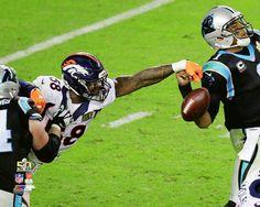 2016 Super Bowl 50 Von Miller Forces Cam Newton Fumble Denver #Denver 8x10 Photo from $6.99