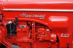 | Hanomag Tractor Detail R425