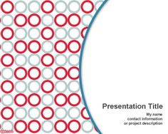 Free Microplate PowerPoint Template for Biology or Science projects