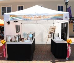 how to set up a craft booth for jewelry 10x10 - Google Search