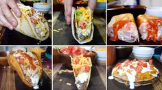 Josh and Mike Greenfield of the Brothers Green cooking and music show created a new series where they show how to make Taco Bell's entire classic menu from home. A video posted by @brothersgr…