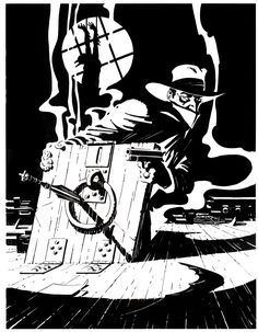 Cap'n's Comics: The Shadow by Mike Kaluta and Jim Steranko