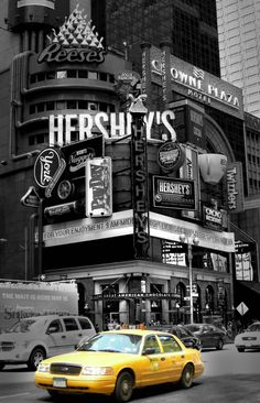 Hershey store in Times Square (New York City), I bought here like 15 bottles of syrup ☺