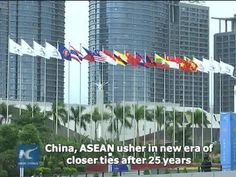 China and the Association of Southeast Asian Nations have developed broad, fruitful and close dialogue relations, since such relationship was established 25 years ago.