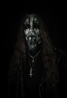 Gaahl #black #metal #musicians #dark #portrait