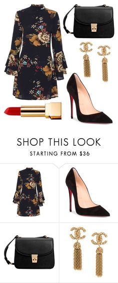 """lindo"" by patybernal on Polyvore featuring Christian Louboutin, MANGO and Yves Saint Laurent"